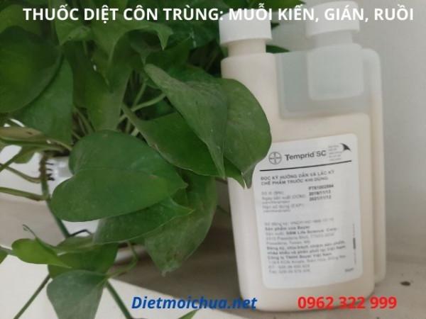 Chế phẩm thuốc diệt muỗi Temprid SC của Mỹ chuyên diệt: Ruồi, muỗi, kiến, gián